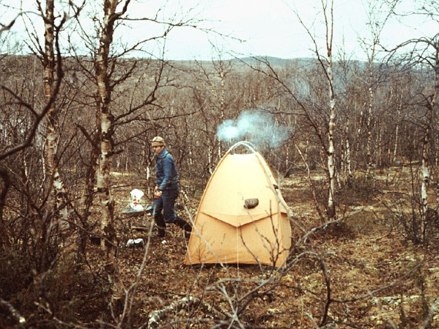 Teltta ja kamiina